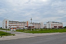 Liuboml central district hospital.JPG