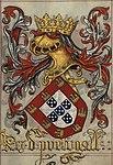 Livro do Armeiro-Mor, Rei de Portugal.jpg