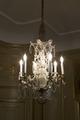 Ljuskrona i sängkammaren. 1700- tal - Hallwylska museet - 106947.tif