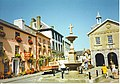 Llandovery - Drovers, Fountain and Market Hall. - geograph.org.uk - 113101.jpg