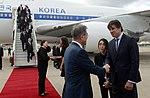 Llegada de Moon Jae-in, presidente de Corea del Sur (45190050645).jpg
