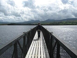 Llyn Trawsfynydd - Llyn Trawsfynydd footbridge