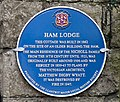 Local History Society Plaque Ham Lodge, Llantwit Major - geograph.org.uk - 1050737.jpg
