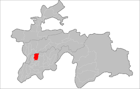 Location of Yovon District in Tajikistan.png