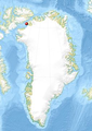 Locator map of Morris Bay in Greenland.png