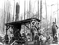 Logging crew and donkey engine, possibly Nippon Lumber Co, Snohomish Co, ca 192 (PICKETT 75).jpeg