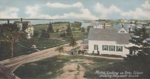Orr's Island - Orr's Island in 1906