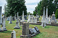 Looking WSW across section D - Glenwood Cemetery - 2014-09-14.jpg