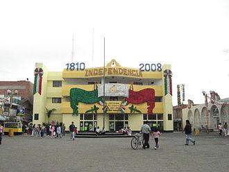 La Paz, State of Mexico - Image: Los Reyes Palacio Municipal