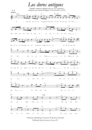 Los duros antiguos (canción popular del carnav...