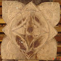 Lotus carving in Embekka Devalaya.jpg