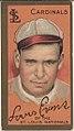 Louis Evans, St. Louis Cardinals, baseball card portrait LCCN2008677415.jpg
