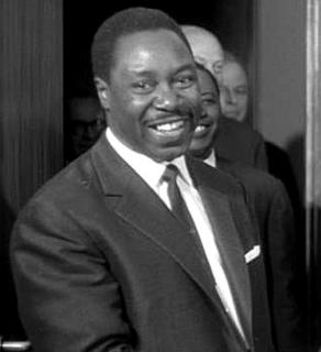 Louis Lansana Beavogui President Guinea