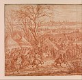 Louis XIV at the Siege of Cambrai, Seen from the South-West (March 20–April 19, 1677) MET DP360135.jpg