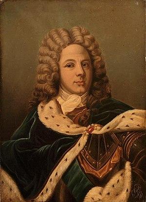Le duc de Saint-Simon,portrait par Perrine Viger-Duvigneaud'après Hyacinthe Rigaud,Château de Versailles.