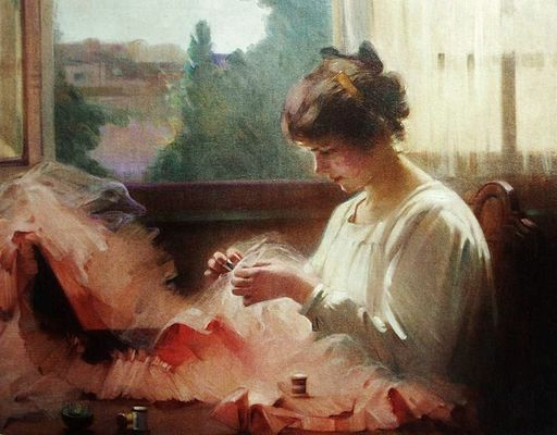 Louise De Hem - 1905 - The Seamstress