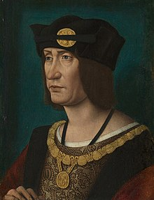 Portrait of Louis XII aged 52