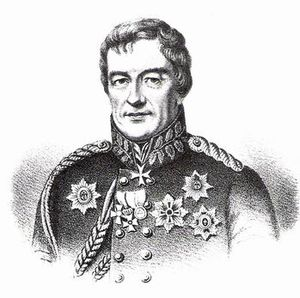 Ludwig von Wolzogen - Portrait (circa 1829)
