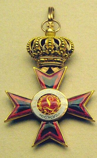 Ludwig Order - Image: Ludwigsorden