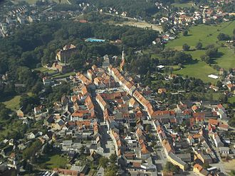 Königsbrück - Image: Luftbild koenigsbrueck