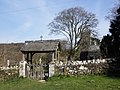 Lych Gate, St Petroc's Church, Harford - geograph.org.uk - 1801634.jpg