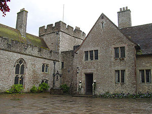 "Back to the Egg - Lympne Castle in Kent, where Wings recorded part of Back to the Egg and filmed the video for their single ""Old Siam, Sir"""