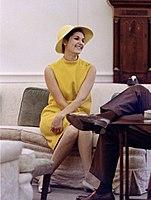 Lynda Bird Johnson in the Oval Office.jpg
