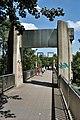 Mülheim an der Ruhr, Kfar-Saba-Brücke, 2011-08 CN-01.jpg