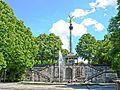 München - Friedensengel mit Fontäne (tone-mapping).jpg