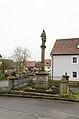 Münnerstadt, Wermerichshausen, Steggasse, Kriegerdenkmal, 001.jpg