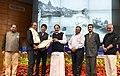 M. Venkaiah Naidu presenting the Life Time Achievement award to Shri Raghu Rai, at the 6th National Photography Awards Ceremony, in New Delhi.jpg