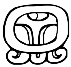 Maya calendar - Image: MAYA g log cal D11 Chuwen