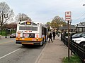 MBTA route 554 bus at Waltham station, April 2016.JPG