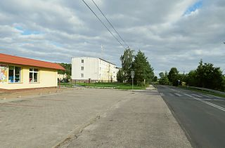 Mileszewy Village in Kuyavian-Pomeranian Voivodeship, Poland