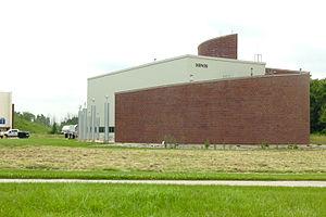 MINOS - Image: MINOS service building at Fermilab