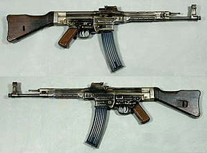 StG 44 - StG 44 from the collections of the Swedish Army Museum