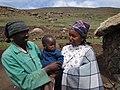 Maamohelang, husband, and son (5286374550).jpg