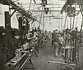 Machinery in Duncan and Fraser automotive factory, Franklin Street, Adelaide (north side), ca 1915 (SLSA B 38798).jpg