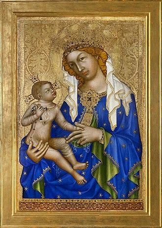 Madonna of Zbraslav - Image: Madona zbraslavská, Národní galerie v Praze