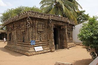 Gaurishvara Temple, Yelandur - View of the Mahadwara, Gaurishvara temple (1500 AD)