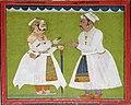 Maharana Jai Singh of Udaipur and Thakur Gopinath.jpg