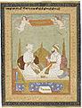 Maharana Sangram Singh of Mewar and Maharaja Sawai Jai Singh of Amber, Folio from the Amber Album LACMA M.2001.24.jpg