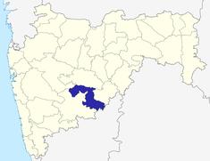మహారాష్ట్రలో ఉస్మానాబాద్ జిల్లా యొక్క ఉనికి