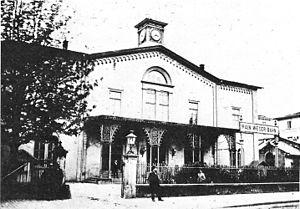 Main–Weser Railway - Main-Weser station in Frankfurt in 1889