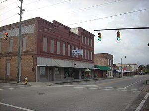 Fairmont, North Carolina - downtown Fairmont