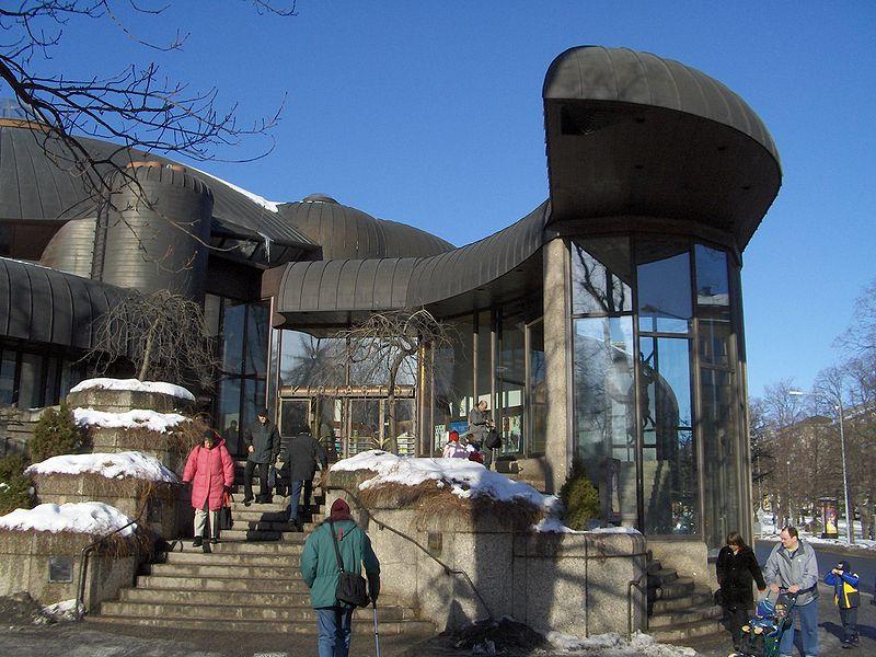 Pietilä, Tampere könyvtár