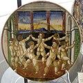 Maiolica di gubbio, mastro giorgio andreoli, girotondo con putti, 1550-1525 ca.jpg
