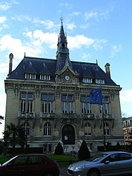 The town hall of Le Raincy