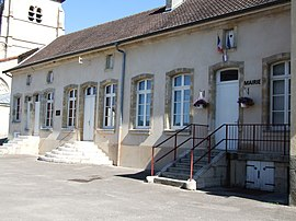 The town hall in Mussey-sur-Marne