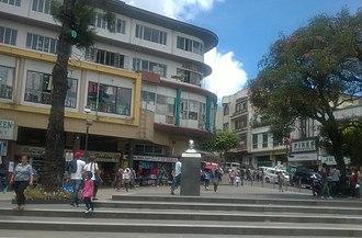 George A. Malcolm - Malcolm Square in central Baguio City 2017
